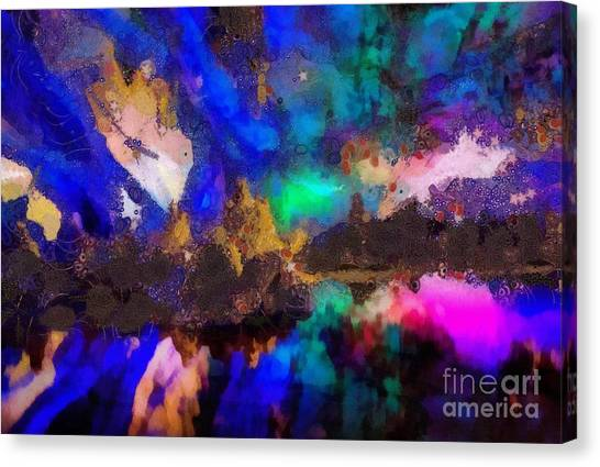 Dancing In The Moon Light Canvas Print