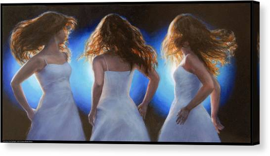 Dancing In The Spotlight Canvas Print