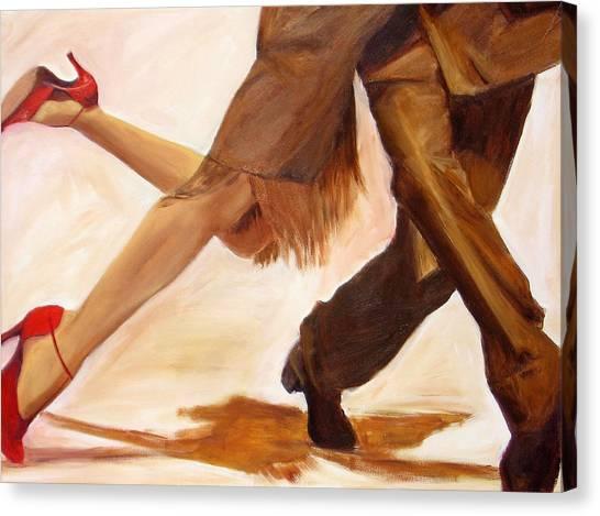 Dancing Legs IIi Canvas Print