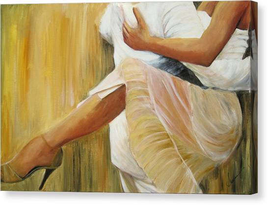 Dancing Legs Canvas Print