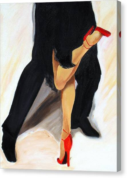 Dancing Legs II Canvas Print