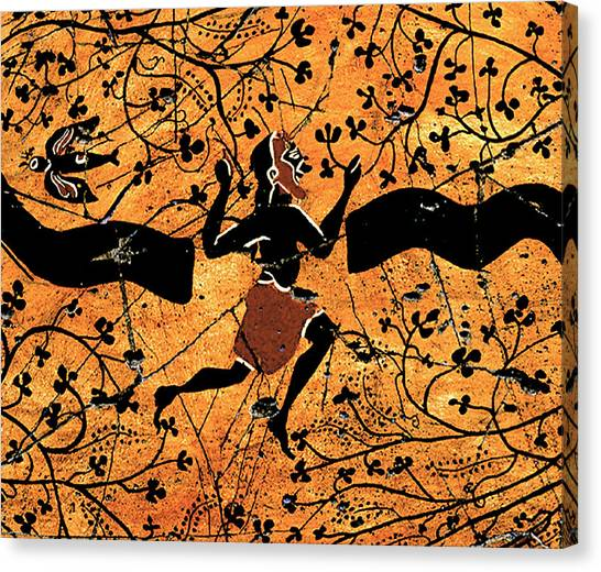 Bogdanoff Canvas Print - Dancing Man - Study No. 1 by Steve Bogdanoff