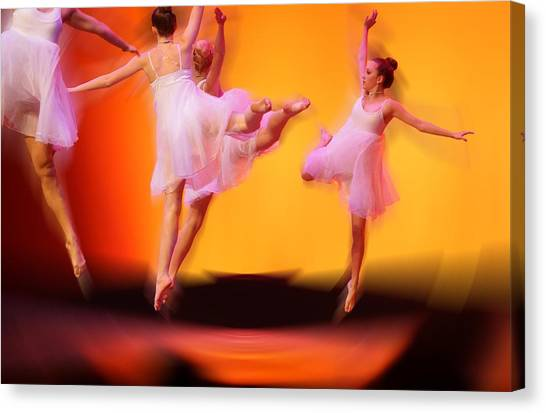 Dancing On Air Canvas Print by Thomas Fouch