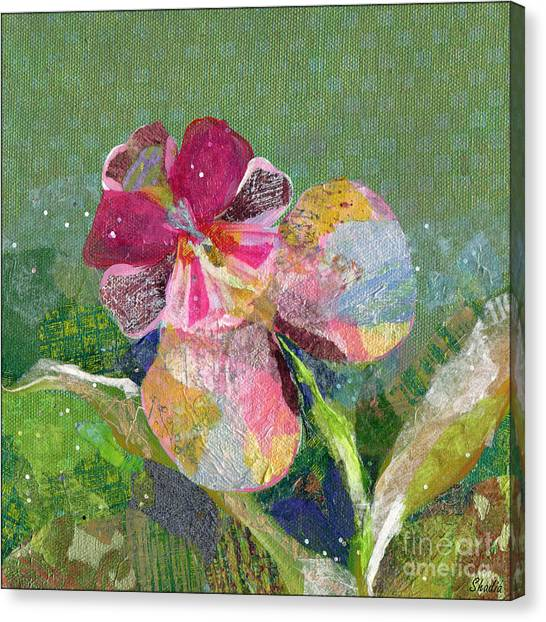 Orchid Canvas Print - Dancing Orchid IIi by Shadia Derbyshire