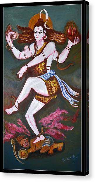 Dancing Siva  Canvas Print