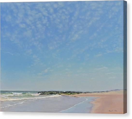 Dancing Sky In April Canvas Print