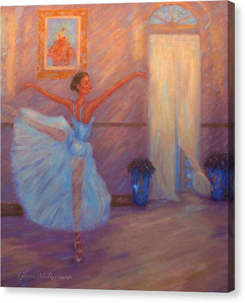 Dancing To The Light Canvas Print