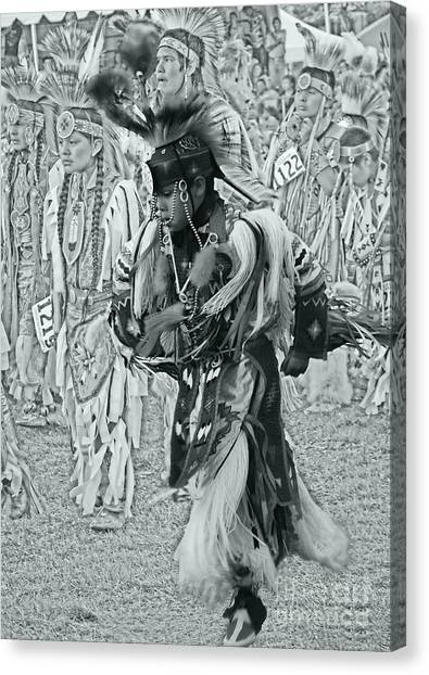 Dancing With Ancestors Silver Screen Canvas Print by Scarlett Images Photography
