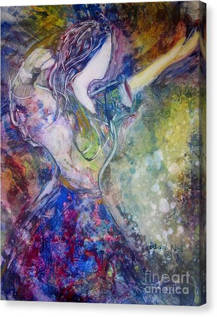Dancing With The Lord Canvas Print