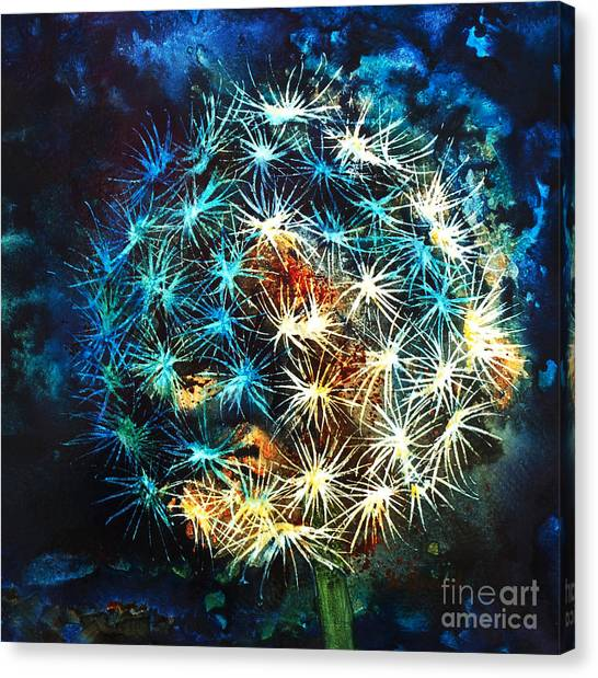 Dandy Puff Canvas Print