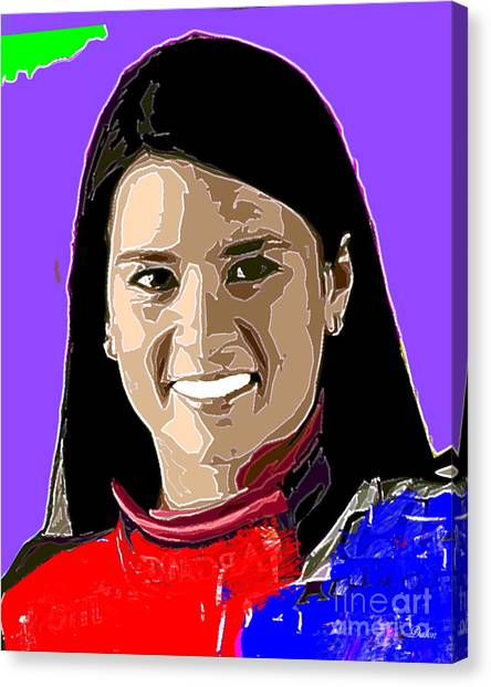 Danica Patrick Canvas Print - Danica Patrick by Dalon Ryan
