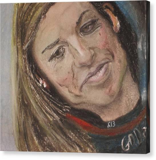 Danica Patrick Canvas Print - Danica Patrick by John Brewer
