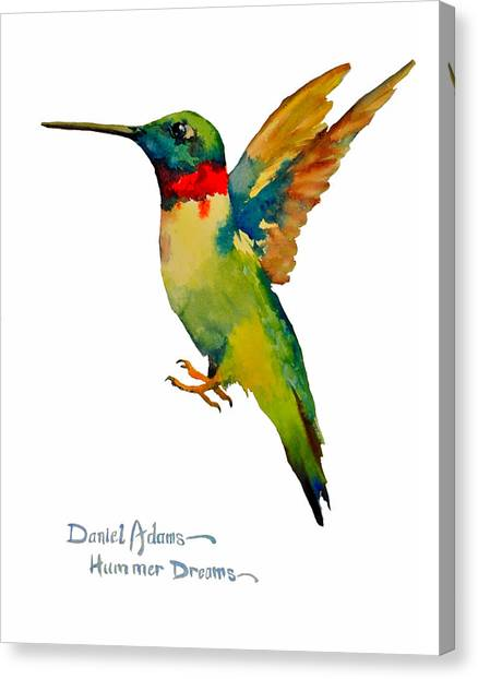 Da166 Hummer Dreams Daniel Adams Canvas Print