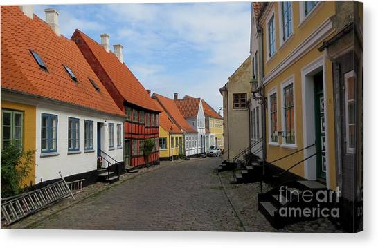 Danish Village Canvas Print