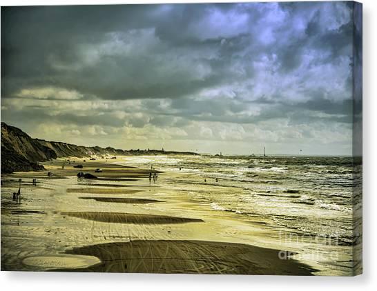Danish West Coast Beach Canvas Print