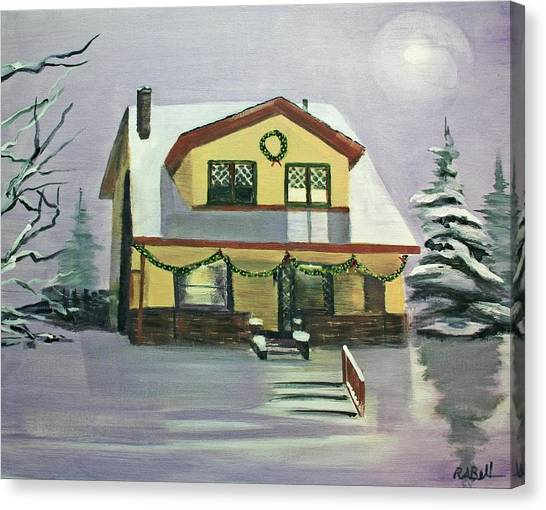 Dan's House Canvas Print by Randy Bell