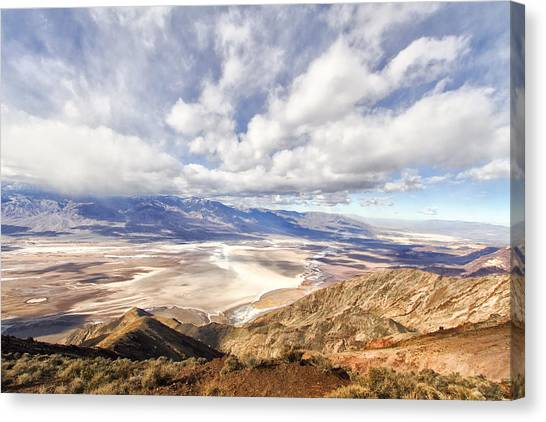 Dante's View Canvas Print