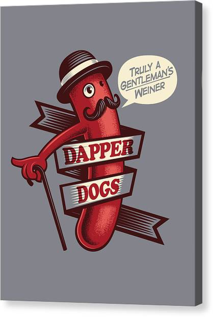Dapperdogs Canvas Print