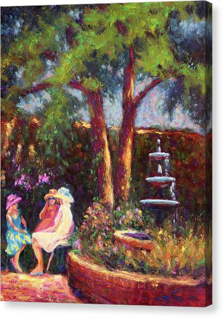 Dar Richards House Garden Party Canvas Print