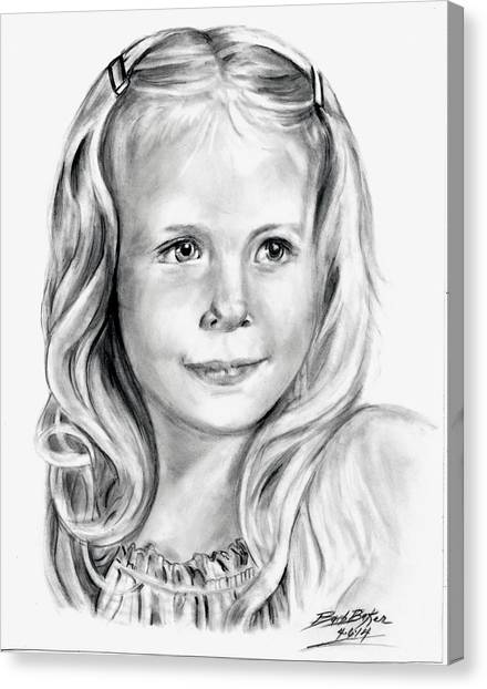 Darci Canvas Print