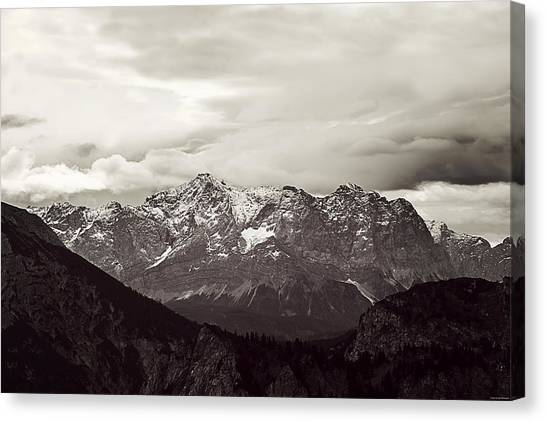 Dark Alps Canvas Print
