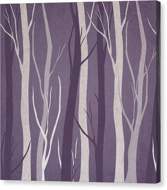 Nature Canvas Print - Dark Forest by Aged Pixel