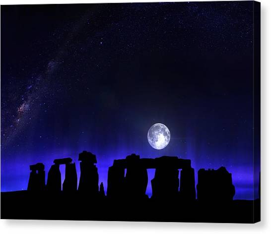 Dark Henge Canvas Print