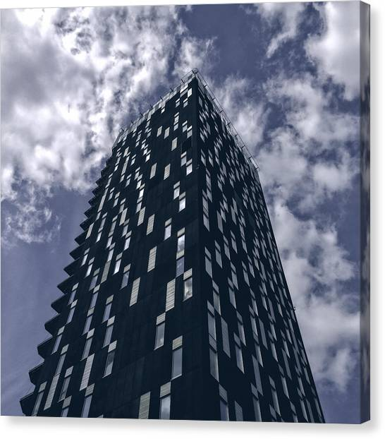 Architectonics Canvas Print - Dark Hotel by Ari Salmela