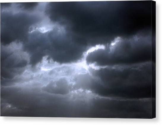 Dark Light Canvas Print
