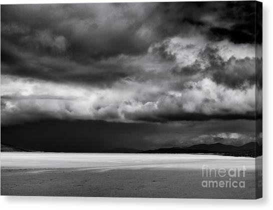 Rainclouds Canvas Print - Dark Light by Tim Gainey
