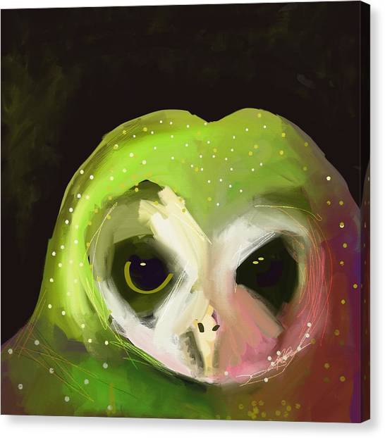 Limes Canvas Print - Dark Owl by Cathy Walters