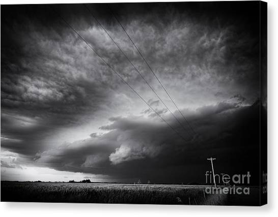Dark Prairie Canvas Print
