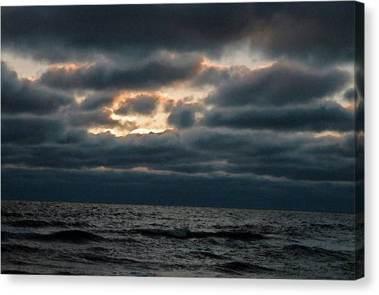 Dark Sea Canvas Print