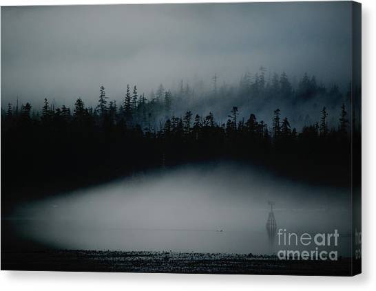 Dark Sfumato Canvas Print