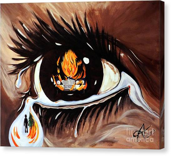 Dark Sorrow  Canvas Print