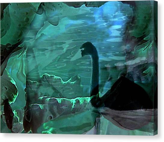 Dark Swan Canvas Print