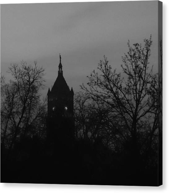 Dark Time Canvas Print