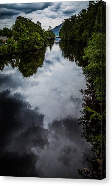 Dark Waters Of Loch Ness Canvas Print