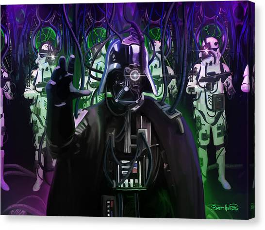 Darth Borg Canvas Print