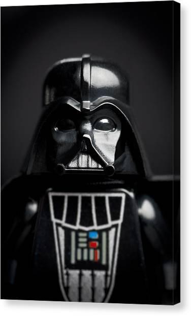 Darth Vader Canvas Print - Darth Vader by Samuel Whitton