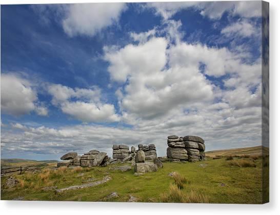 Dartmoor Tor Canvas Print