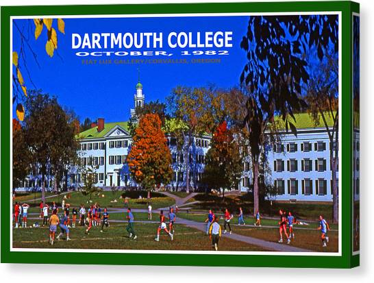 Dartmouth College Canvas Print - Dartmouth College by Michael Moore