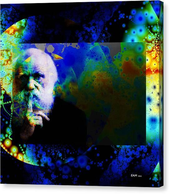 Darwinism Canvas Print
