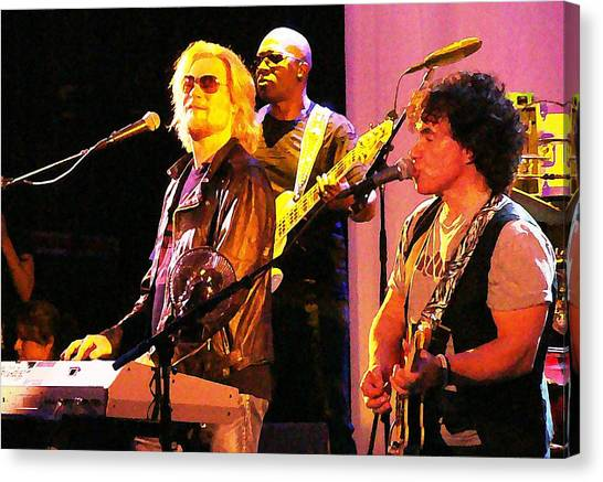Daryl Hall And Oates In Concert Canvas Print
