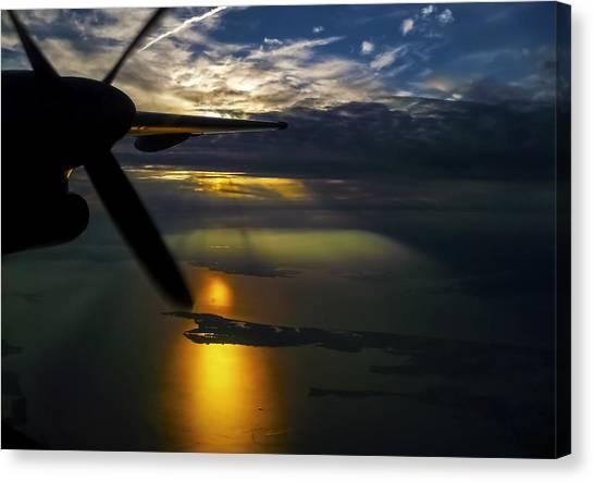Dash Of Sunset Canvas Print