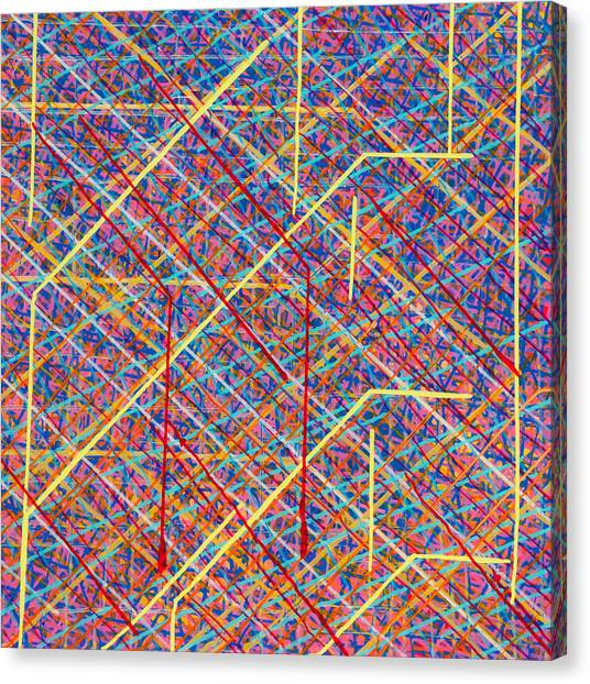 Data Structure Canvas Print by Patrick OLeary