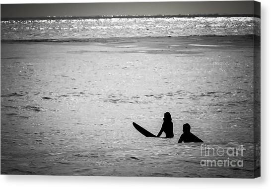 Date Night Canvas Print by Amy Fearn