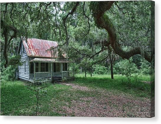 Daufuskie Homestead Canvas Print