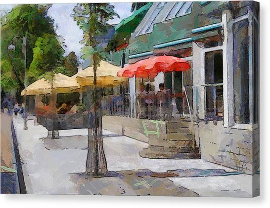Daugavpils Street Canvas Print by Yury Malkov