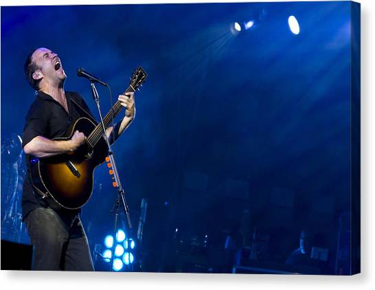Dave Matthews At Alpine Valley Canvas Print
